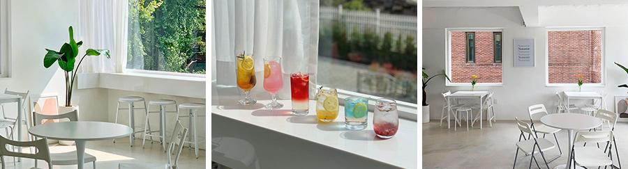 노맨틱: 용산구 후암동 한 켠에 자리한 노맨틱은 햇살과 함께 브런치를 즐기기 좋은 장소다.