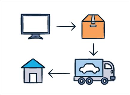 현대캐피탈 온라인샵을 통하면 클릭 한 번만으로 집 앞에서 중고차를 만날 수 있다. (출처=현대캐피탈 인증중고차 홈페이지 캡처)