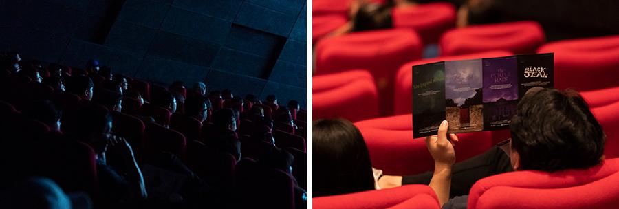 지난5일,현대카드가 제작한 단편영화 '내 꿈은 컬러꿈'이 제24회 부산국제영화제 특별상영작으로 첫 선을 보였다.수많은 관객들이 부산 영화의전당 시네마테크를 가득 메웠다.