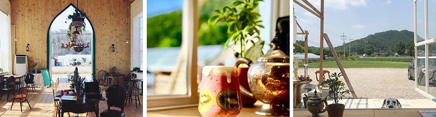 분덕스: '초록 대문'으로 유명한 분덕스는 도심에서 멀리 떨어져 한적하게 휴식을 취할 수 있는 매력적인 곳이다.