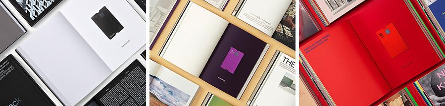 현대카드는 최근 책 형태의 프리미엄 카드 패키지 the book을 공개했다.