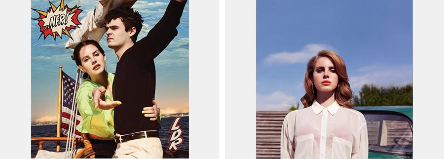 (왼쪽) Lana Del Rey, 〈Norman Fucking Rockwell〉 앨범 커버(출처=멜론) (오른쪽) 라나 델 레이(출처=라나 델 레이 공식 홈페이지 'lanadelrey.com')