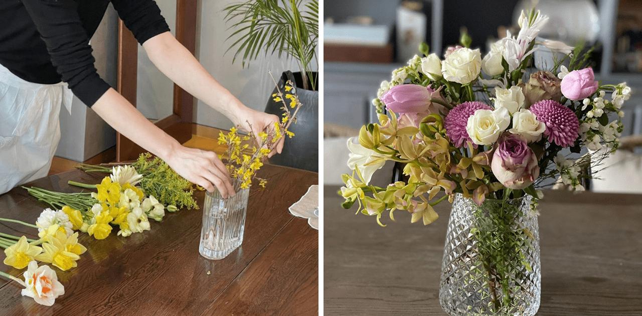 호텔 예식장에서 보던 꽃다발들을 구독서비스를 통해 만나볼 수 있게 되었다