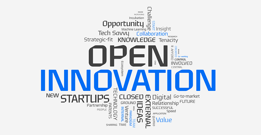 Open innovation is hailed as a new business model to lead the fourth industrial revolution as industrial boundaries are blurring and the importance of collaboration is more emphasized.