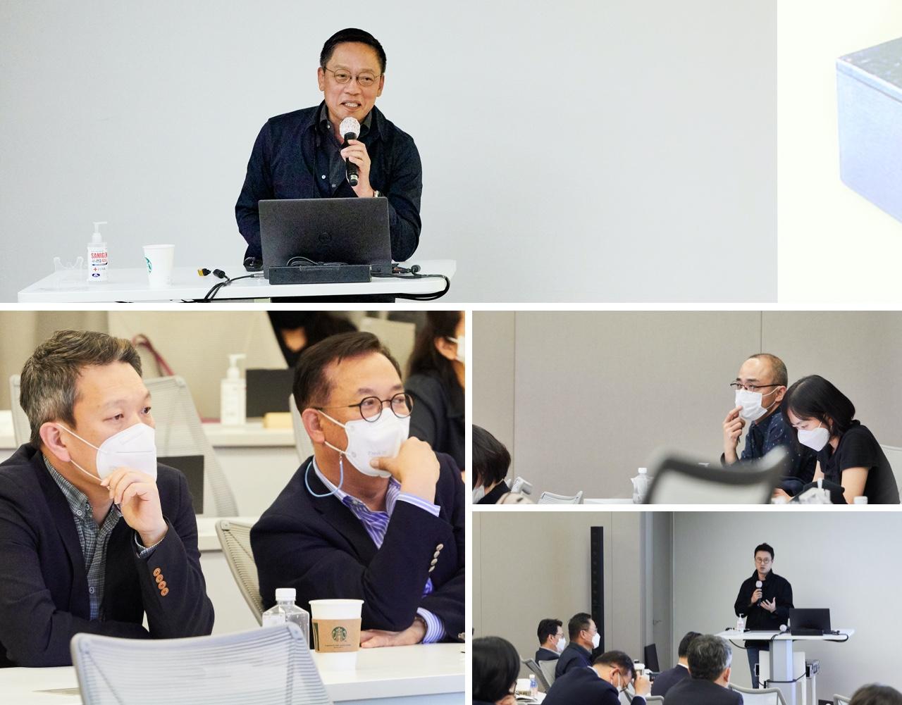 김학민 현대카드 Digital기획실장이 고객 행동을 예측하는 단계에서 더 나아가, 고객의 소비 의도를 파악할 수 있는 엔진을 개발 중이라고 설명하자 현장 분위기가 더욱 뜨거워졌다.