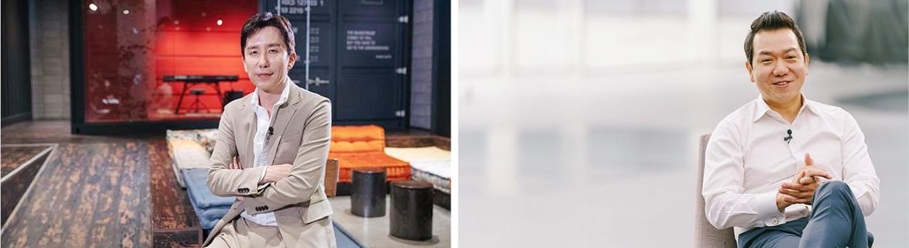 유희열 안테나뮤직 대표(왼쪽)와 이상엽 현대차 현대디자인센터장
