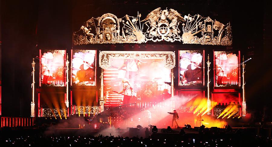 지난18~19일 서울 고척스카이돔에서 열린 '현대카드 슈퍼콘서트25 QUEEN'.양일간 열린 공연에서4만5000여명의 관객이 퀸의 음악에 취해 밤을 보냈다.