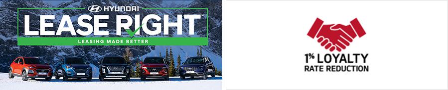 (좌) LeaseRight는 HCCA가 제공하는 리스 상품의 브랜드이다. 현대차에서 제공하는 품질/부품 보증뿐만 아니라 리스 만기 시점 약정 주행거리 초과 거리와 차량손상에 관련된 페널티를 감면하는 혜택을 더한 상품으로 고객들에게 리스 재이용을 통한 차량 구매를 유도하는데 효과적인 역할을 수행하고 있다. (우) KIA 1% Loyalty Rate Reduction은 기존 기아차 보유 고객이 새로운 기아차로 교체할 경우 대출금리 1% 할인 혜택을 제공하는 프로그램이다. 2020년 연간 운영되는 프로그램으로 자동차 판매사와 할부금융사의 안정적인 협업 구조의 예로 볼 수 있다.