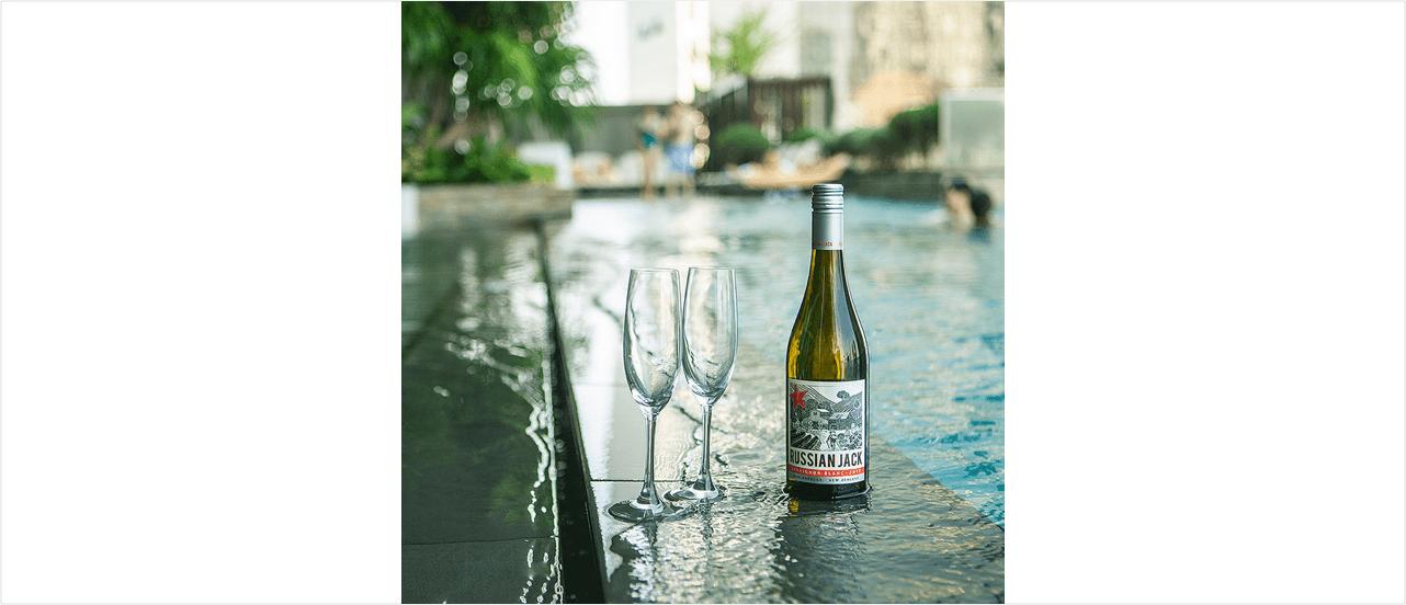 화이트와인 생산지로 유명한 뉴질랜드 말보로 지역에서 생산한 러시안 잭 와인