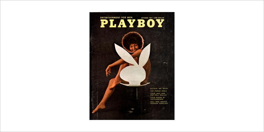 '플레이보이'는 1971년 10월호 표지에 최초로 흑인 모델의 누드를 등장시켜 인종 차별과 갈등이 극심했던 당시 미국 사회에 이슈를 불러일으켰다.