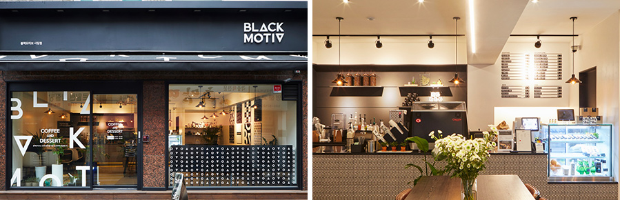 BLACK MOTIV' Sadang branch, located in Dongjak-gu, Seoul.