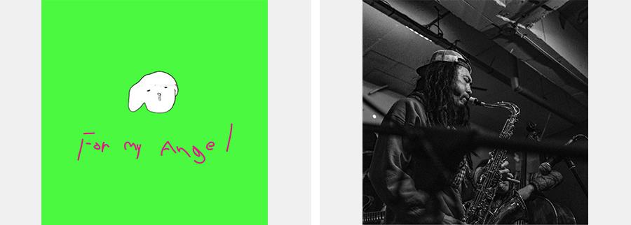 (왼쪽) 김오키, 〈포 마이 엔젤〉 앨범 커버(출처=멜론) (오른쪽) 김오키(출처=김오키 인스타그램 '@donmansuki' 캡처)