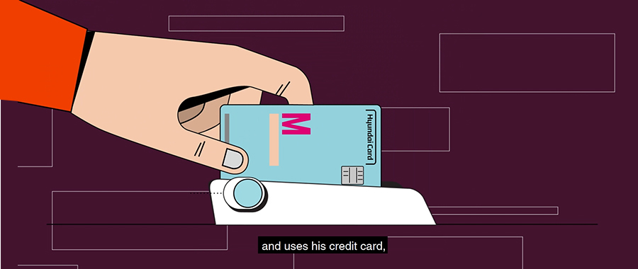Credit card payment data contain massive information about cardholders such as their spending habits and life cycles. (Source=The New York Times YouTube screen capture)