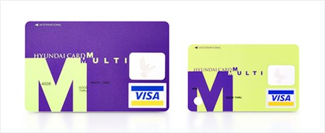 기존 신용카드의 절반에 가까운 크기로 주목 받은 현대카드M미니