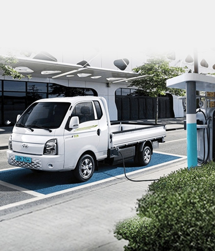 현대캐피탈이 참여한 제주도 내 우체국 택배 차량 교체 사업에는 현대자동차의 '포터Ⅱ 일렉트릭' 모델 기반의 차량이 활용될 예정이다. (출처=현대자동차 홈페이지)