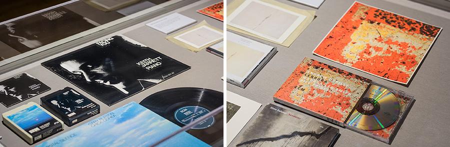 ECM이 제작한 음반들. ECM은 'Edition of Contemporary Music'의 약자로, 만프레드 아이허가 만든 음반 레이블이다.